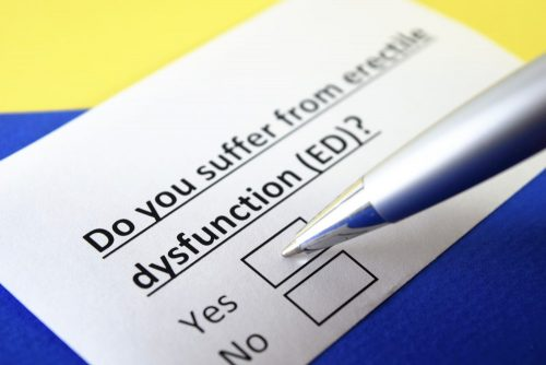 Do you suffer from Erectile Dysfunction?